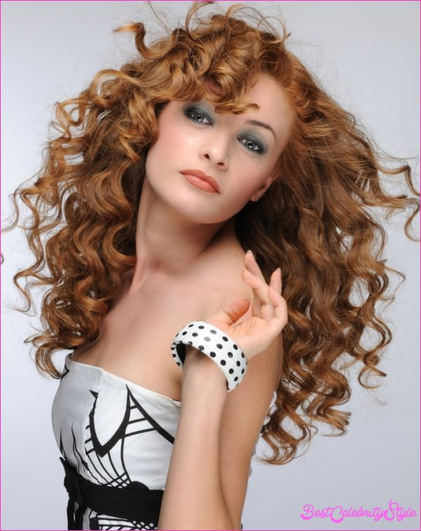 Best ideas about Hairstyle For Thick Curly Frizzy Hair . Save or Pin Prom hairstyles for thick curly hair BestCelebrityStyle Now.