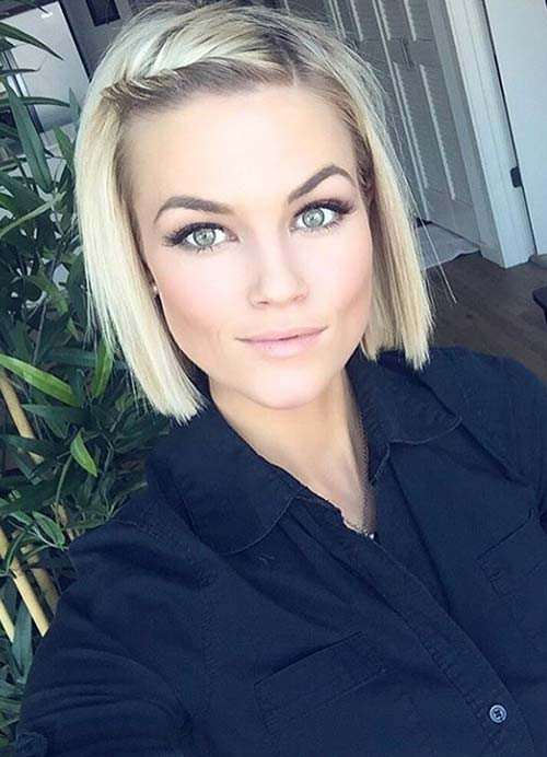 Hairstyle For Thin Hair Female  55 Short Hairstyles for Women with Thin Hair
