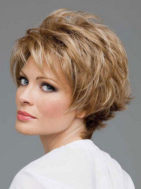 Hairstyle For Thin Hair Female  Short hairstyles for women over 50 with fine hair