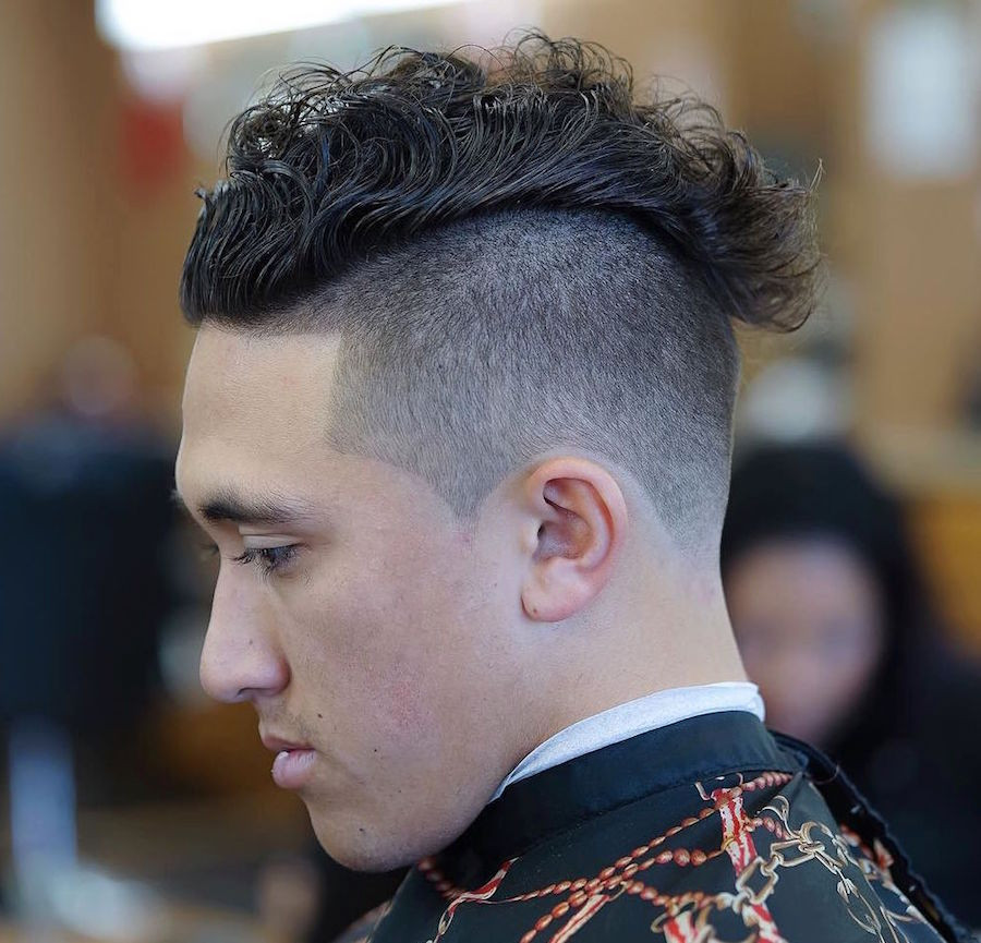 Hairstyle Undercut  11 Cool Curly Hairstyles For Men