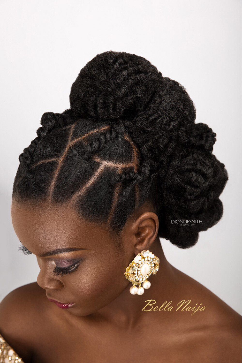 Best ideas about Hairstyle With Natural Hair . Save or Pin BN Bridal Beauty International Bridal Hair Specialist Now.