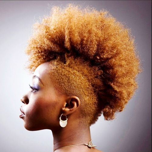 Best ideas about Hairstyle With Natural Hair . Save or Pin Fun Fancy and Simple Natural Hair Mohawk Hairstyles Now.