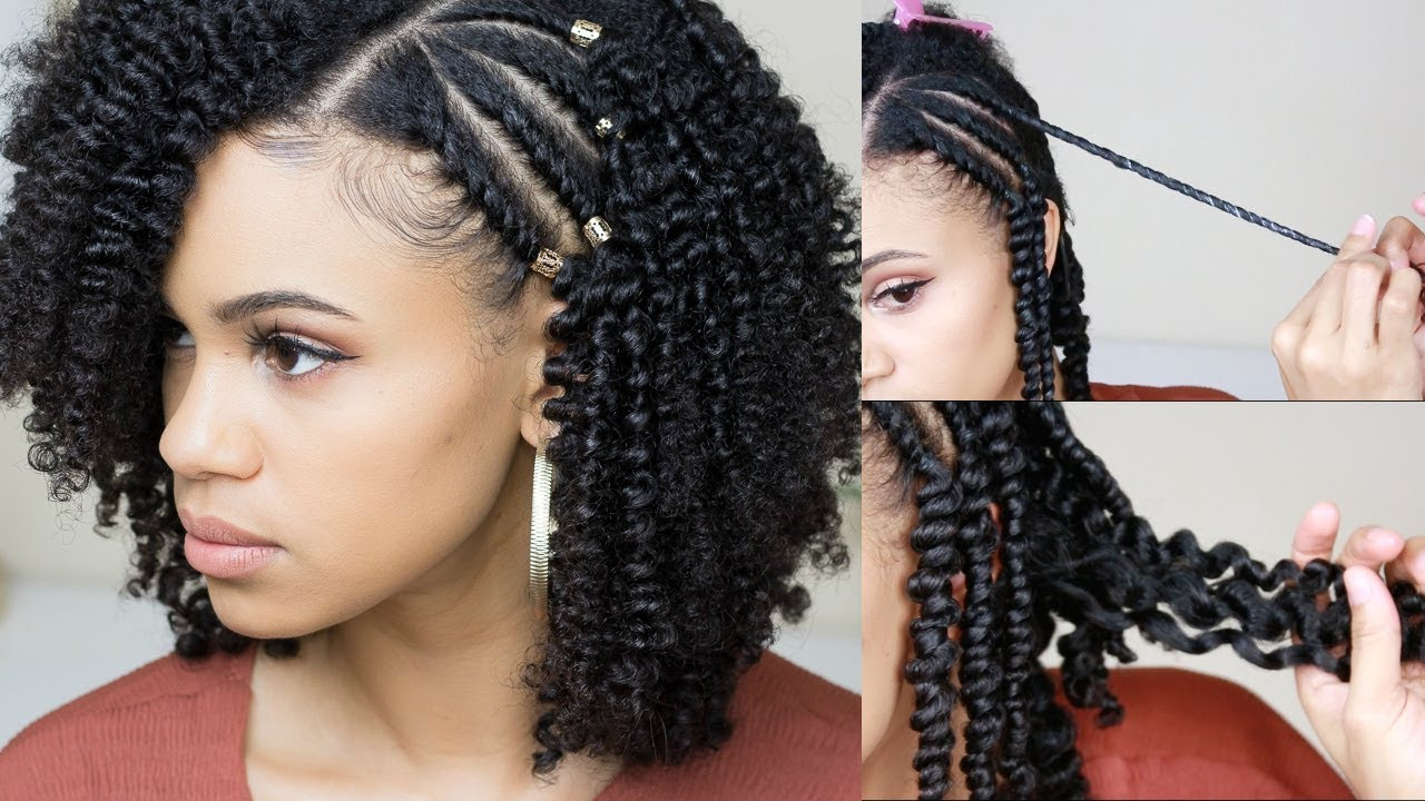 Best ideas about Hairstyle With Natural Hair . Save or Pin How To Get A Defined Twist Out Now.
