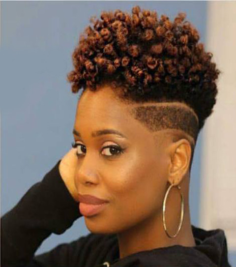Best ideas about Hairstyle With Natural Hair . Save or Pin Lovely 10 Short Natural Hairstyles for Black Women Now.