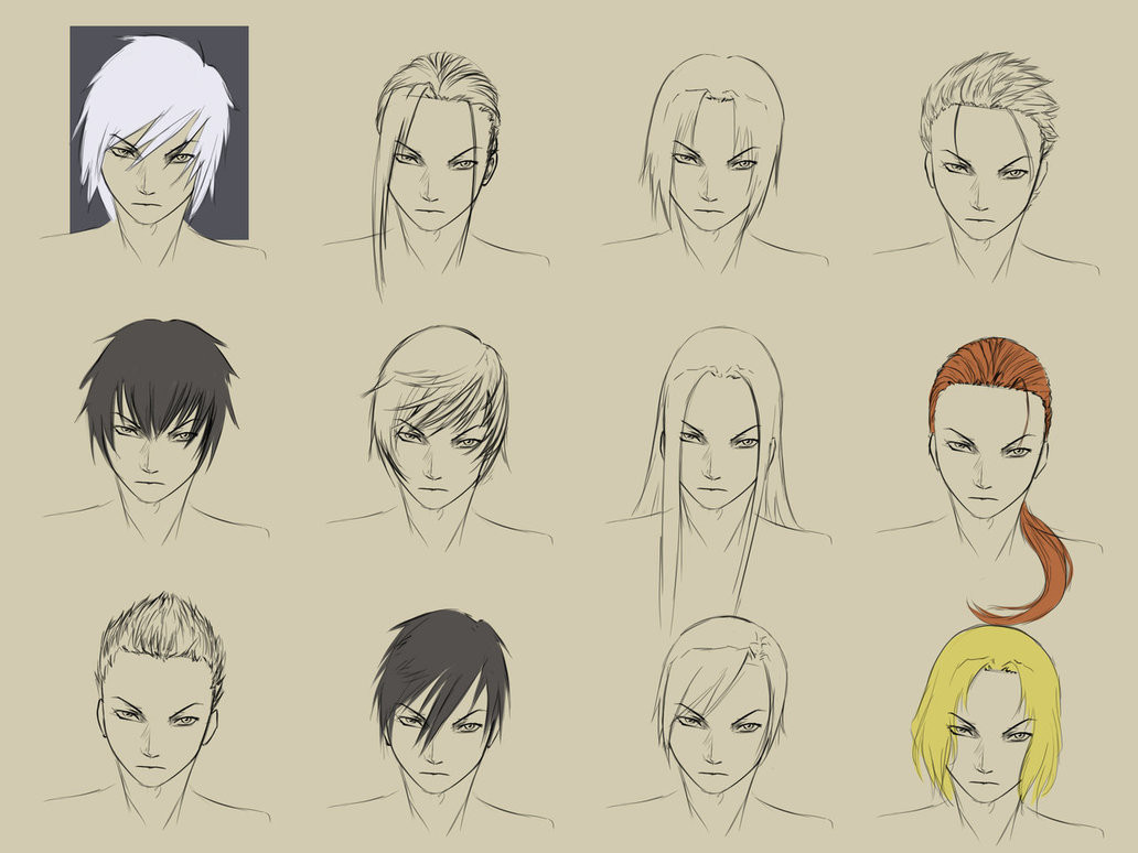 Best ideas about Hairstyles Drawing Male . Save or Pin Male Hairstyles by forgotten wings on DeviantArt Now.