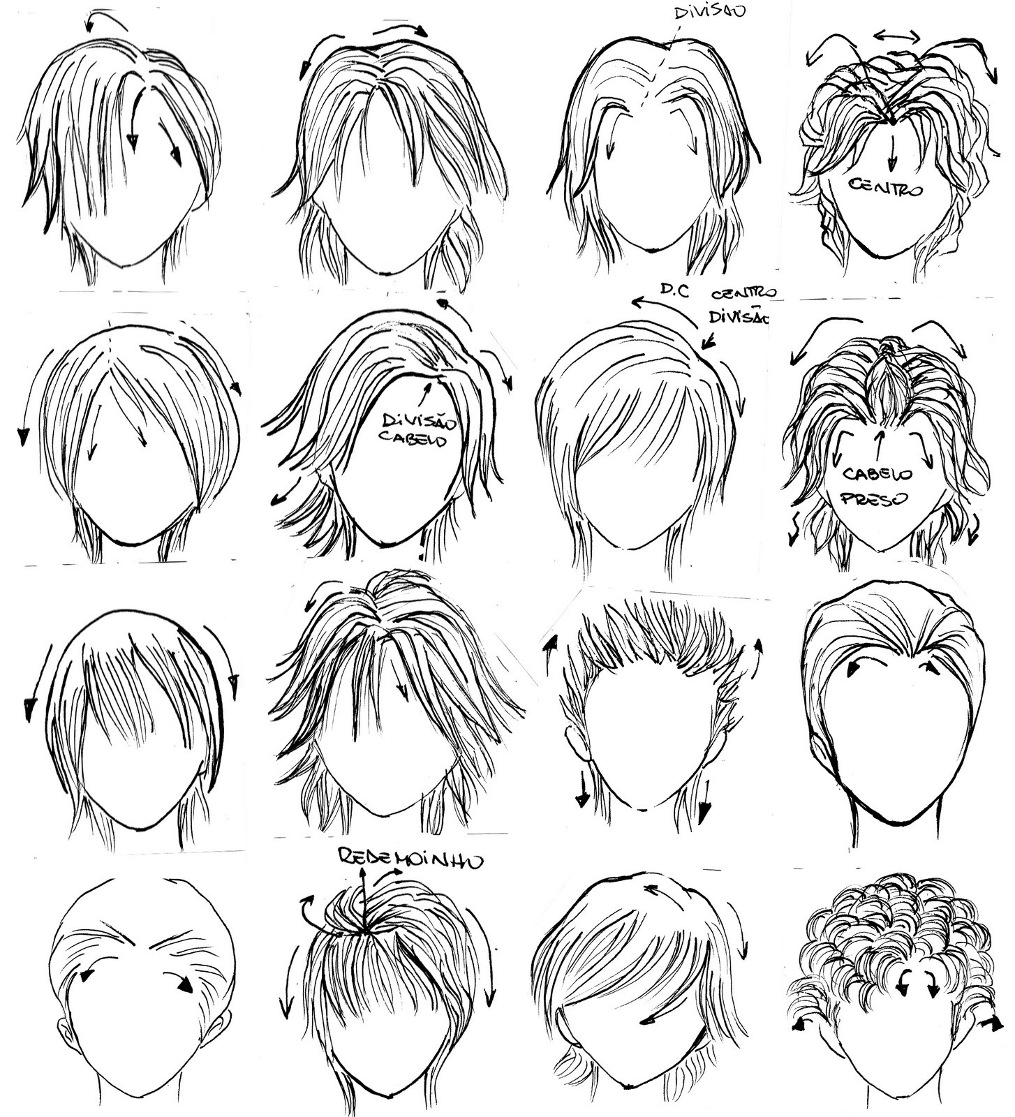 Best ideas about Hairstyles Drawing Male . Save or Pin La Terra del Manga dibuixar manga Now.
