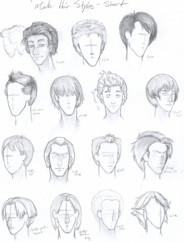 Best ideas about Hairstyles Drawing Male . Save or Pin Male Hair Styles Short by Free Falling on DeviantArt Now.