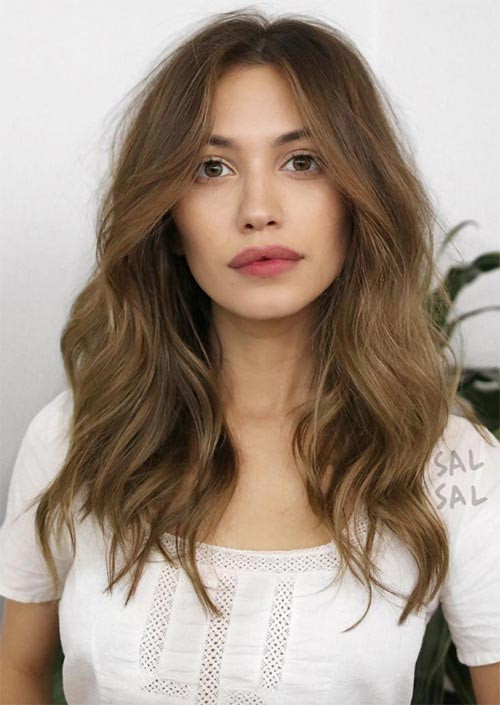 Hairstyles Female  51 Medium Hairstyles & Shoulder Length Haircuts for Women