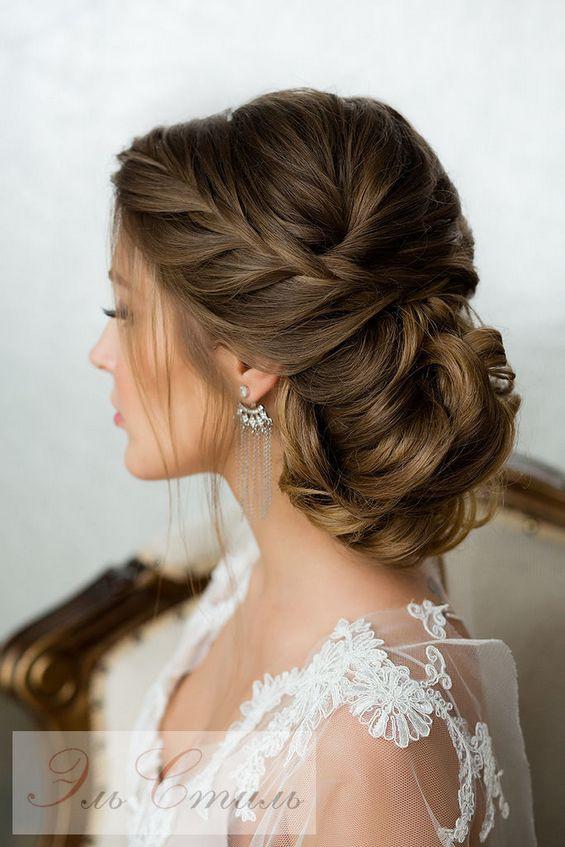 Hairstyles For Bridesmaids 2019  65 Long Bridesmaid Hair & Bridal Hairstyles for Wedding