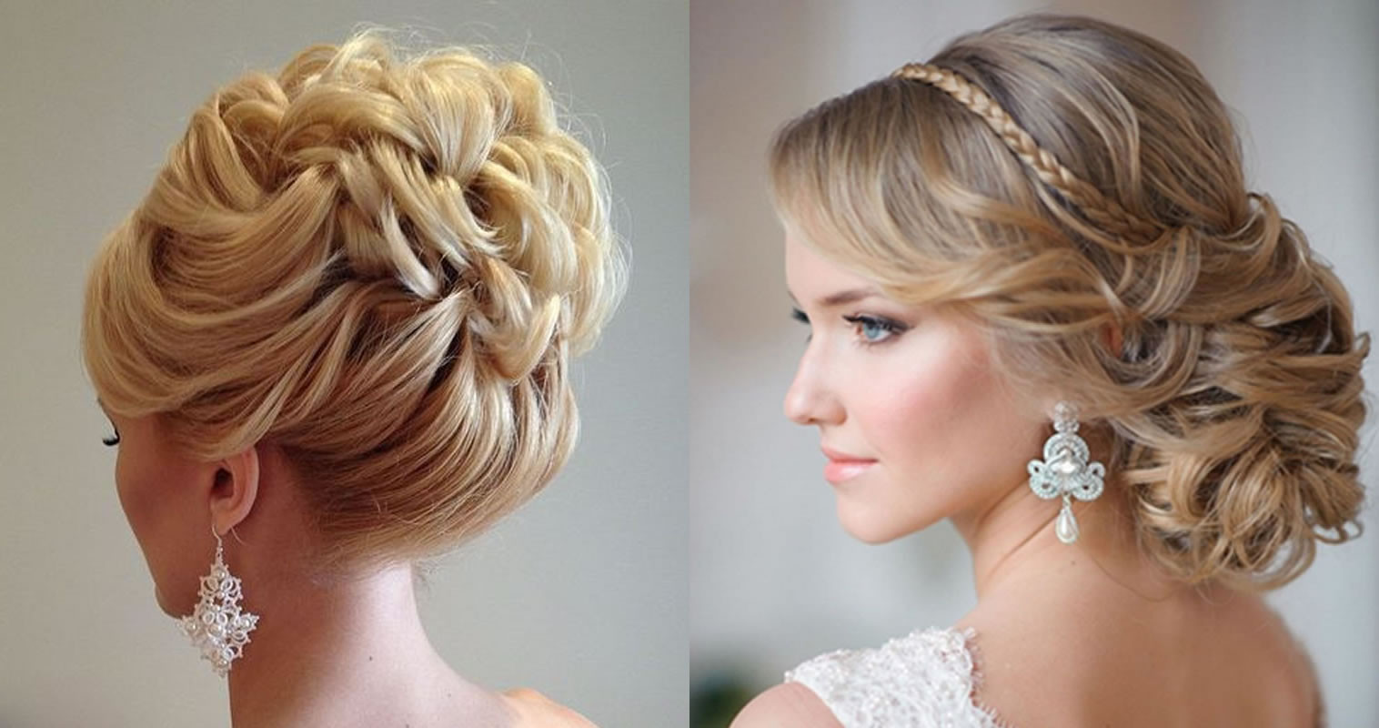 Hairstyles For Bridesmaids 2019  Updo Wedding Hairstyles 2019 Hair Color Ideas for Bride