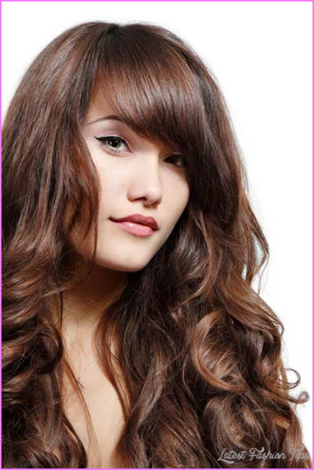 Hairstyles For Curly Thick Hair  Layered haircuts for girls with thick hair