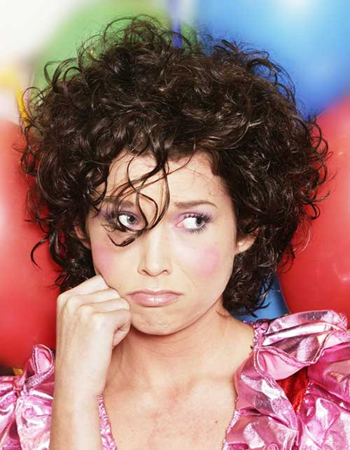 Hairstyles For Curly Thick Hair  15 Short Haircuts For Curly Thick Hair
