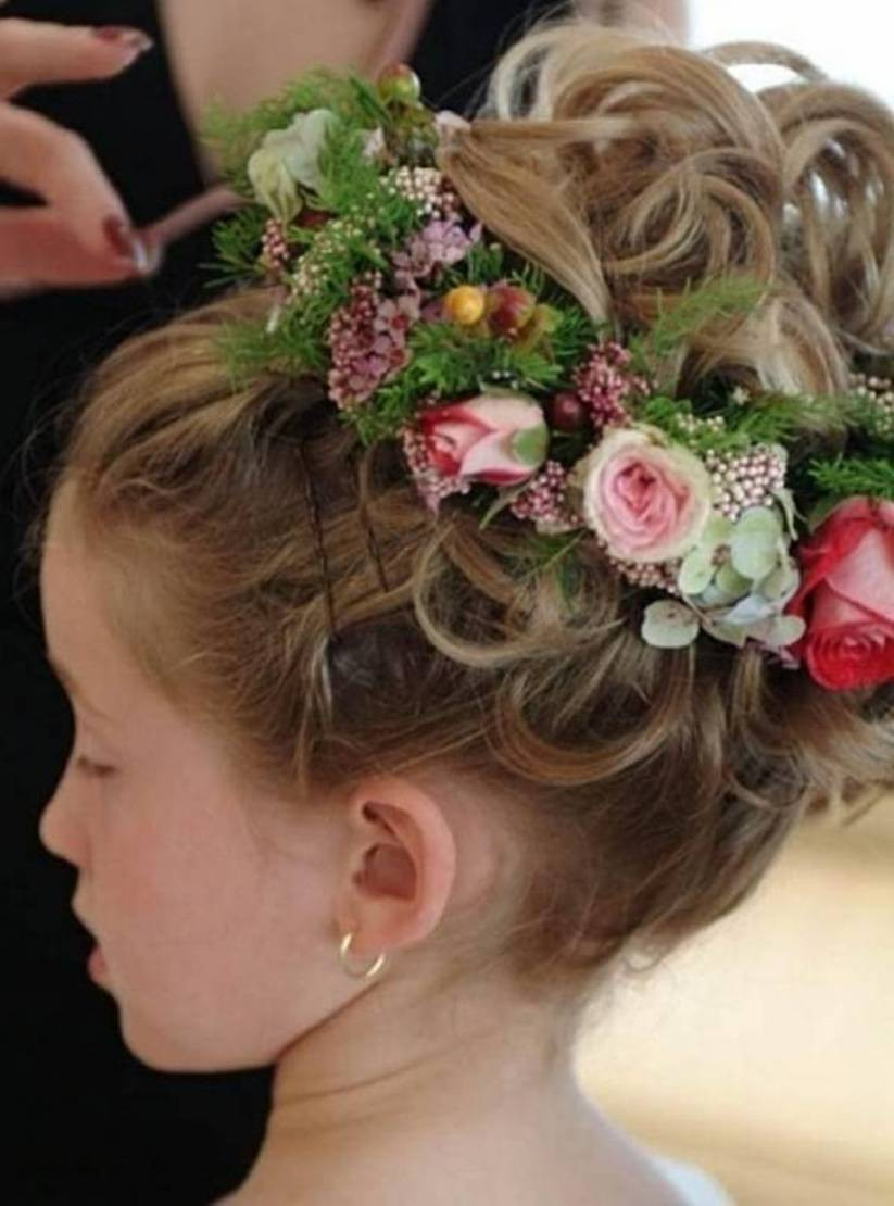 Hairstyles For Flower Girls  Flower Girls Hairstyles For Toddlers Hairstyles