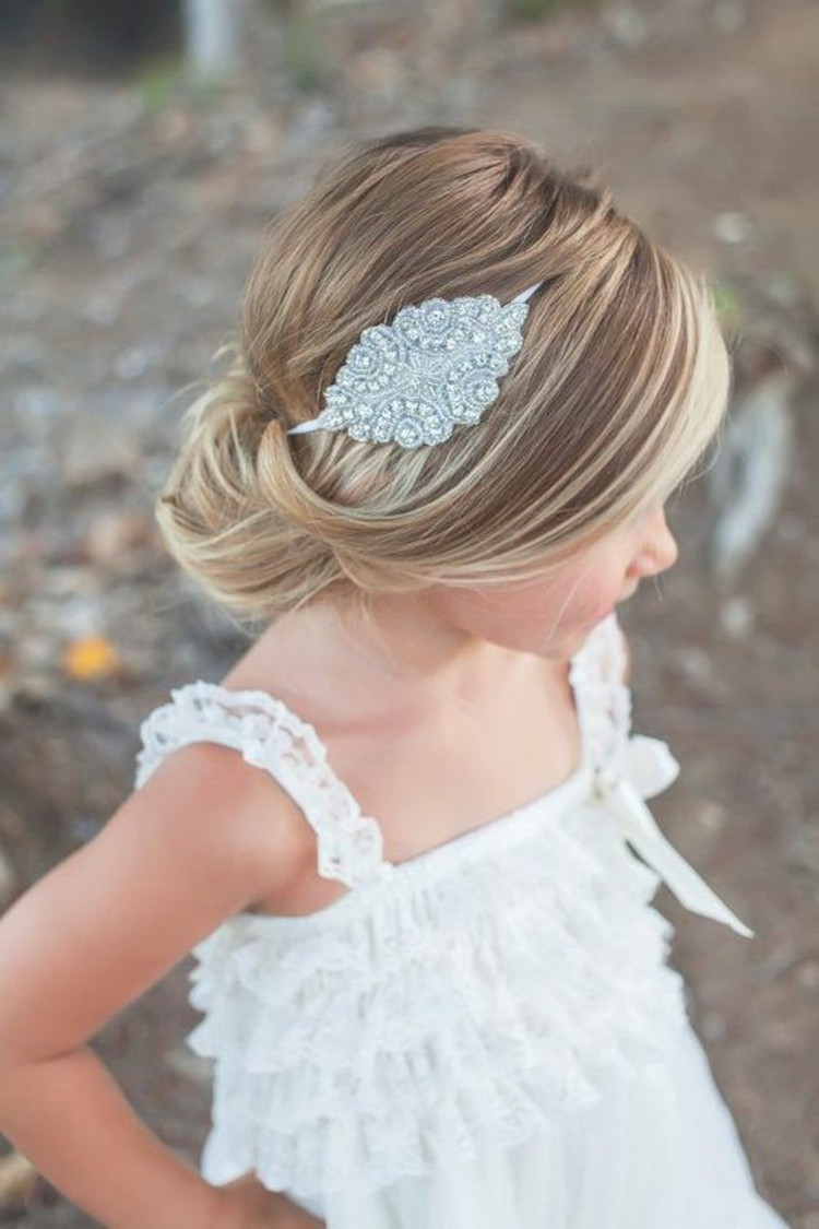Hairstyles For Flower Girls  First munion Hairstyles To Do It Yourself Festive