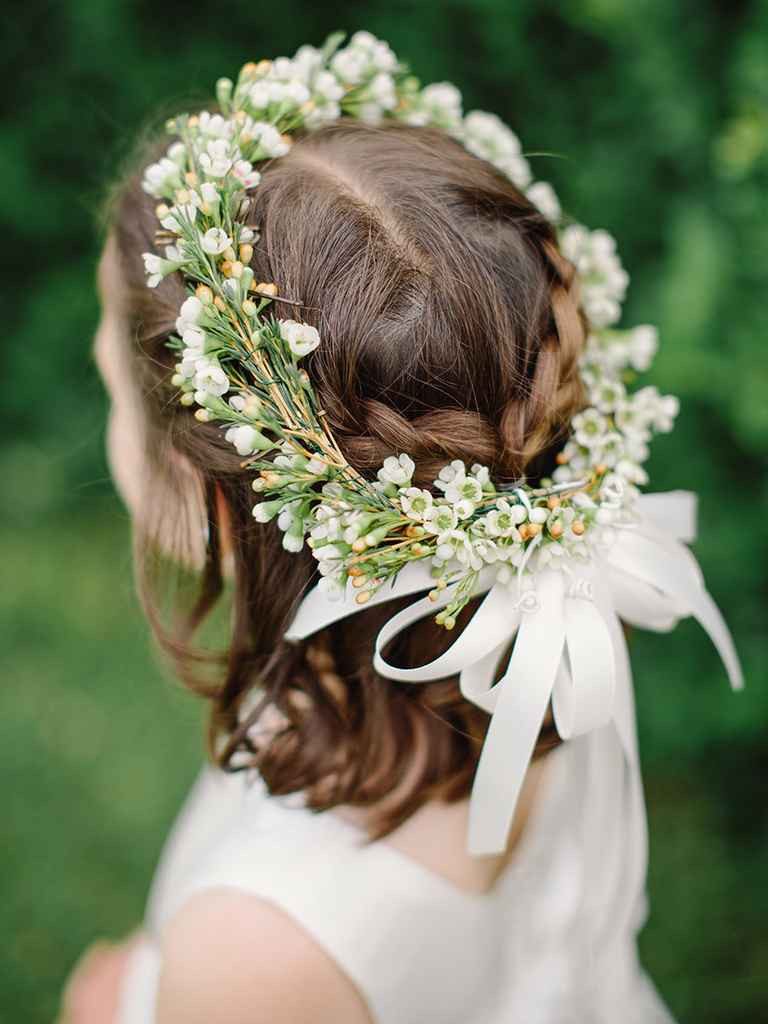 Hairstyles For Flower Girls  14 Adorable Flower Girl Hairstyles