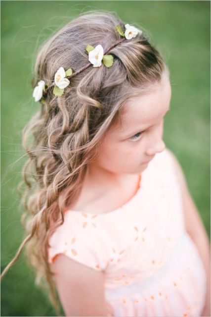 Hairstyles For Flower Girls  21 Super Cute Flower Girl Hairstyle Ideas To Make