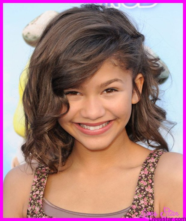 Hairstyles For Girls With Thick Hair  Haircuts for little girls with thick wavy hair LivesStar