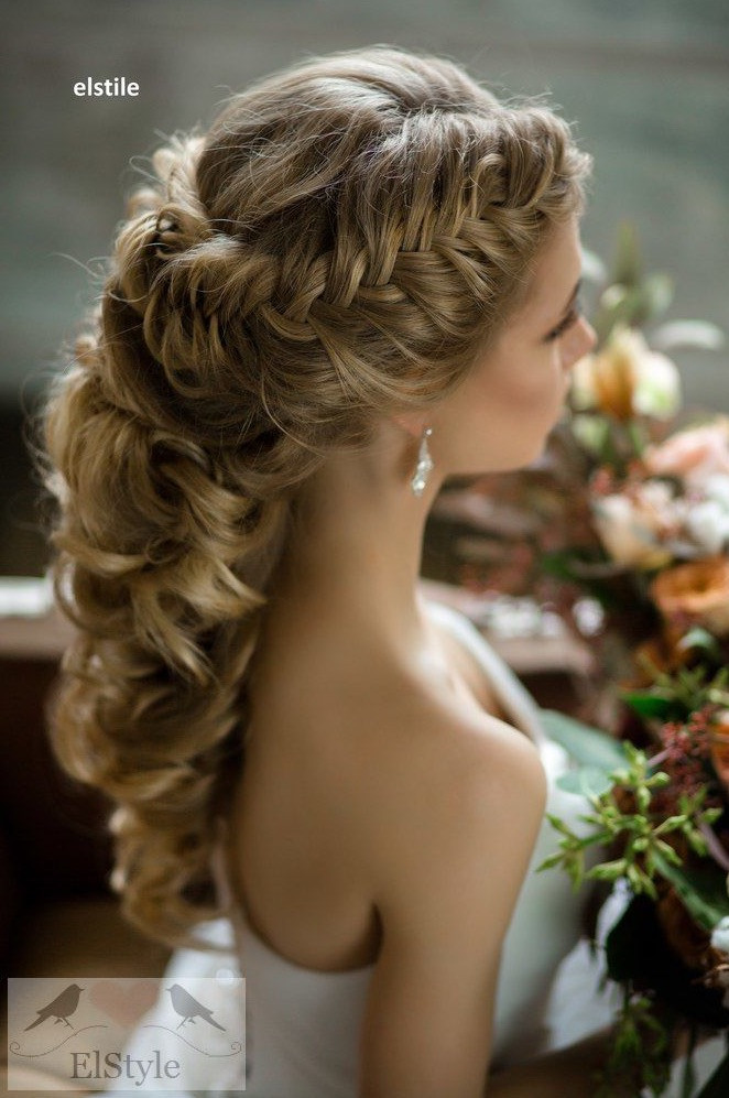 Hairstyles For Going To A Wedding  Wedding Hairstyles with Luscious Elegance MODwedding