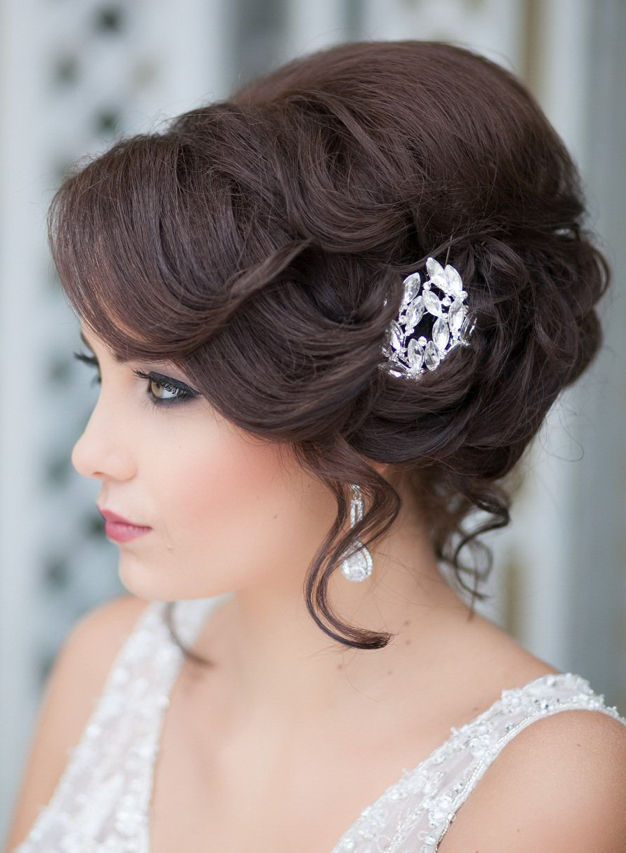 """Hairstyles For Going To A Wedding  Wedding Hairstyles – """" For medium hair 10 new variants"""