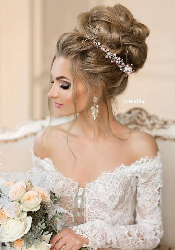 Hairstyles For Going To A Wedding  65 Long Bridesmaid Hair & Bridal Hairstyles for Wedding