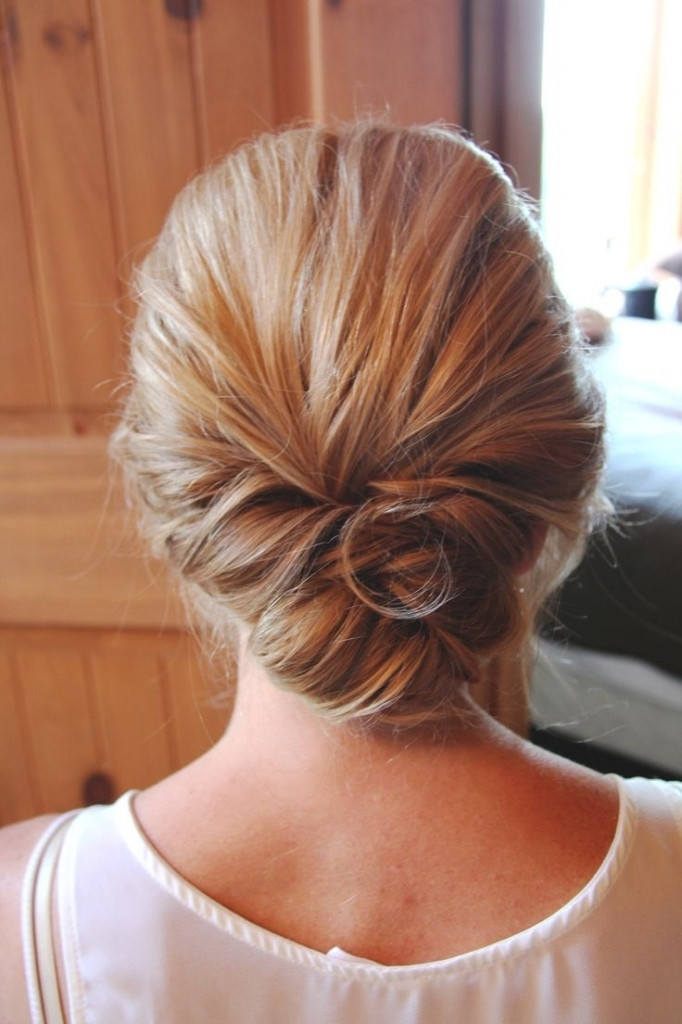 Hairstyles For Medium Hair Updos  Wedding Low Updos Popular Long Hairstyle Idea