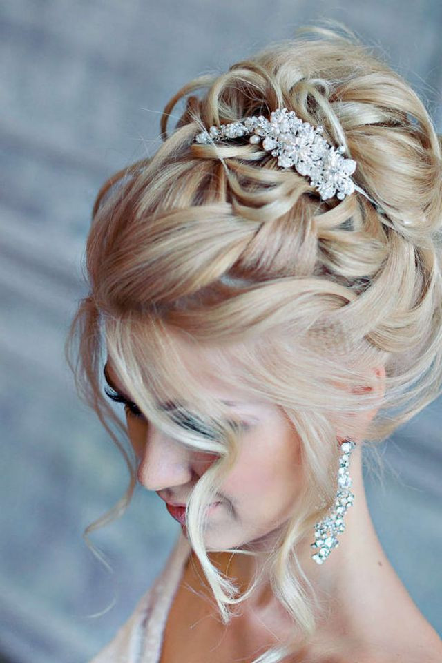 Hairstyles For Medium Hair Updos  Wedding Hairstyle for Medium Hair