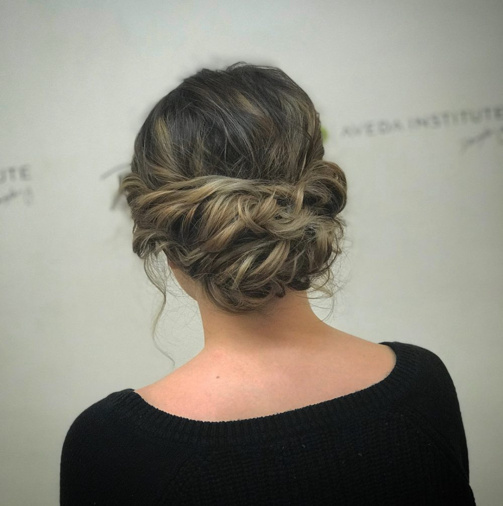 Hairstyles For Medium Hair Updos  24 Chic Updos for Short Hair These Are Hot for 2018