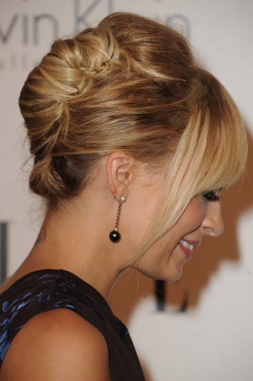 Hairstyles For Medium Hair Updos  Most Beautiful Party Hairstyles for Medium Length Hair