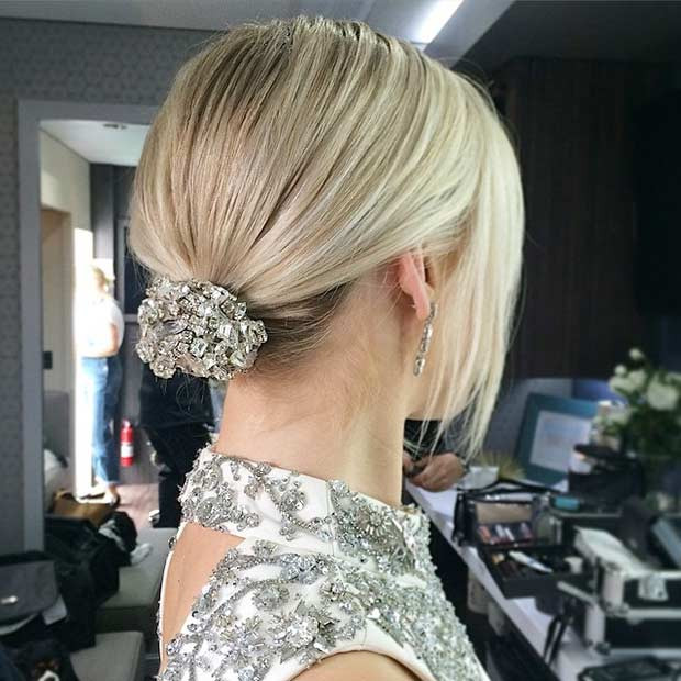 Hairstyles For Medium Hair Updos  31 Wedding Hairstyles for Short to Mid Length Hair