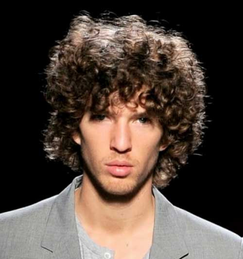 Best ideas about Hairstyles For Men With Thick Curly Hair . Save or Pin Cool Curly Hairstyles for Guys Now.