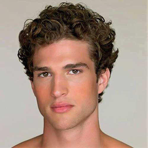Best ideas about Hairstyles For Men With Thick Curly Hair . Save or Pin 10 Mens Hairstyles for Thick Curly Hair Now.