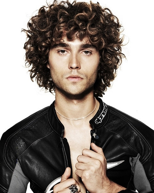 Best ideas about Hairstyles For Men With Thick Curly Hair . Save or Pin 30 y Hairstyles For Men With Thick Hair Now.