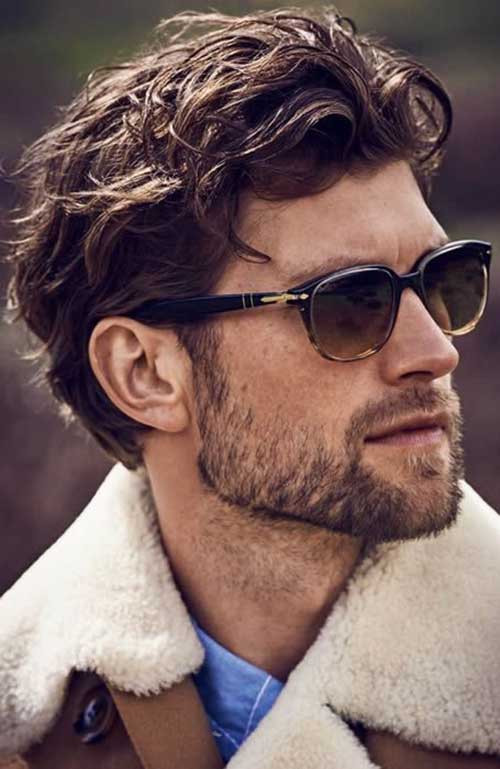 Best ideas about Hairstyles For Men With Thick Curly Hair . Save or Pin Latest Thick & Wavy Hairstyles for Men Now.