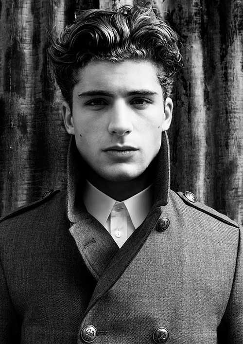 Best ideas about Hairstyles For Men With Thick Curly Hair . Save or Pin 10 Thick Wavy Hairstyles for Men Now.