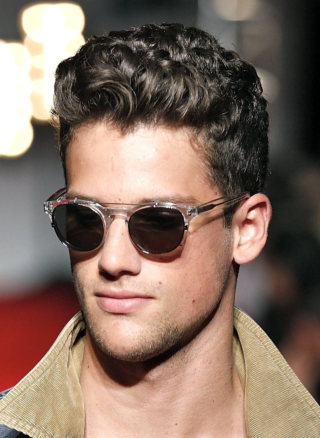 Best ideas about Hairstyles For Men With Thick Curly Hair . Save or Pin Medium Hairstyles 23 Medium Hairstyles For Men With Thick Now.