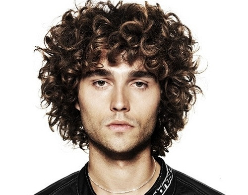 Best ideas about Hairstyles For Men With Thick Curly Hair . Save or Pin Curly Hairstyles For Men Now.