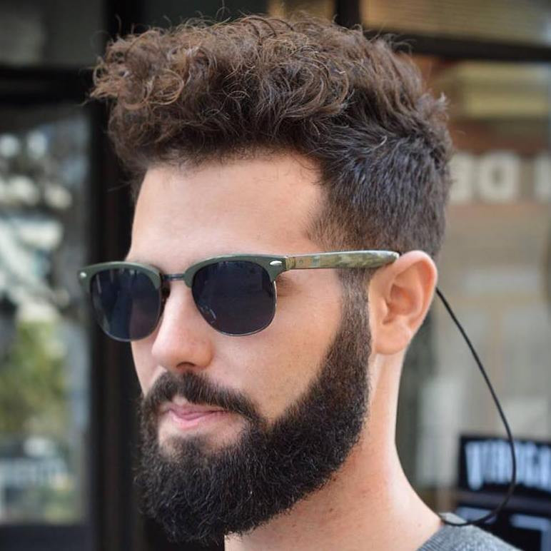 Best ideas about Hairstyles For Men With Thick Curly Hair . Save or Pin 40 Statement Hairstyles for Men with Thick Hair Now.