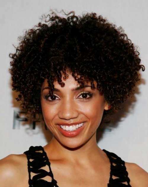 Hairstyles For Natural Curly Black Hair  20 Nice Short Haircuts For Black Women