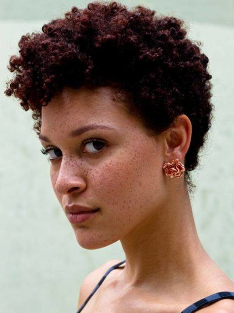 Hairstyles For Natural Curly Black Hair  17 Look stunning with your short natural curly black
