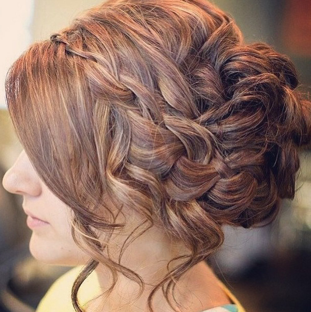 Hairstyles For Prom  Top Beautiful Prom Hairstyle For Long Hair Fashionexprez