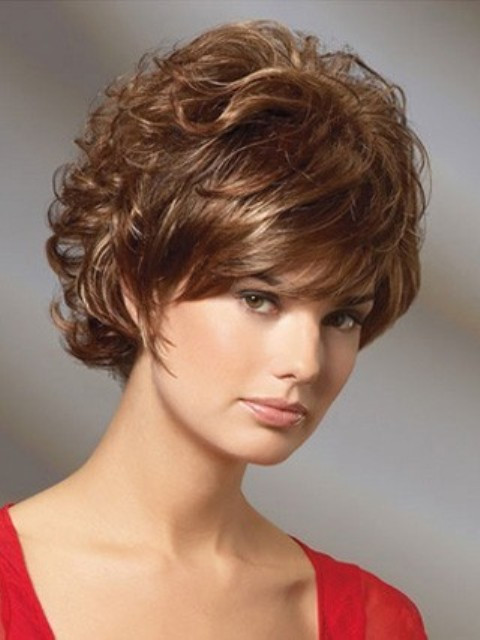 Hairstyles For Short Haircuts  16 Adorable Short Hairstyles for Curly Hair – Featuring