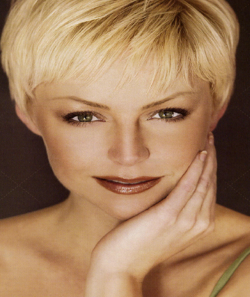 Hairstyles For Short Haircuts  Great short haircuts for fine hair