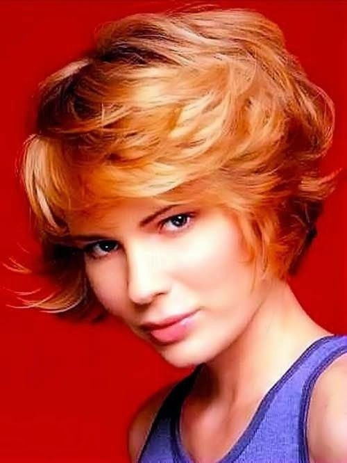 Hairstyles For Short Haircuts  Feathered hairstyles for short hair