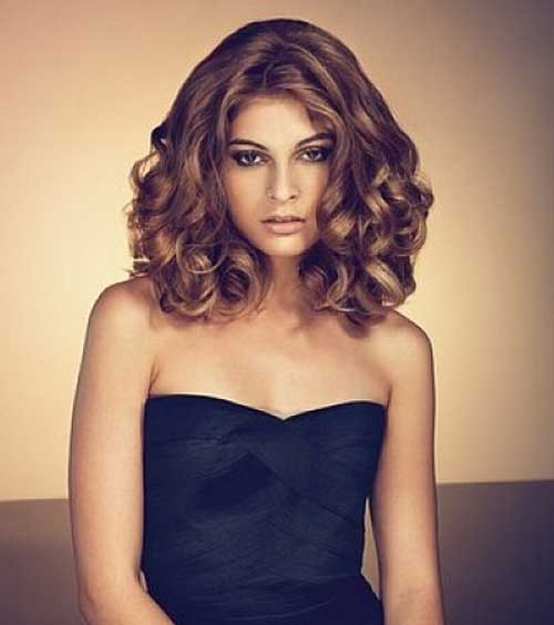 Best ideas about Hairstyles For Short To Medium Length Hair . Save or Pin 35 Medium Length Curly Hair Styles Now.