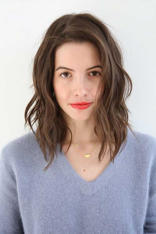 Best ideas about Hairstyles For Short To Medium Length Hair . Save or Pin 25 Short Medium Length Haircuts Now.