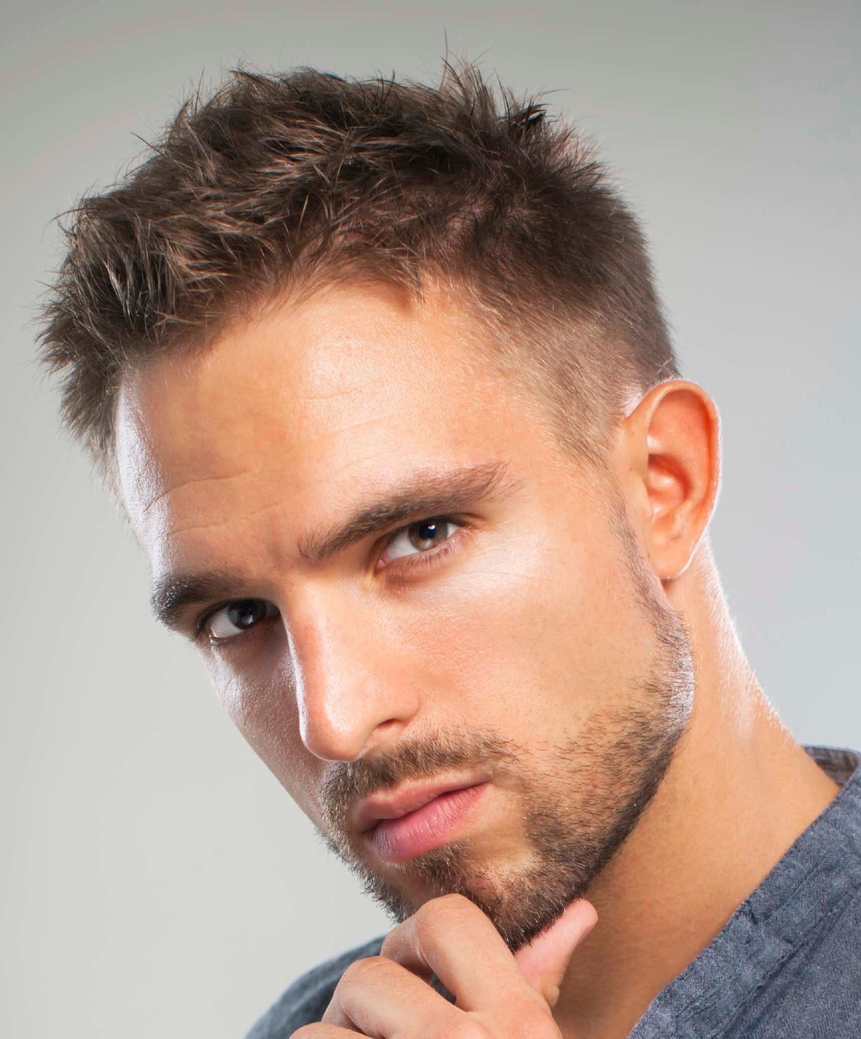 Best ideas about Hairstyles For Thin Hair Males . Save or Pin 5 the best hairstyles for men with thin hair Now.