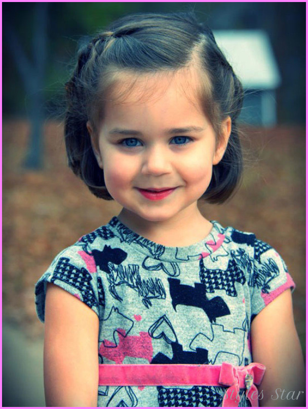 Hairstyles For Toddler Girls  Kids haircuts little girls StylesStar