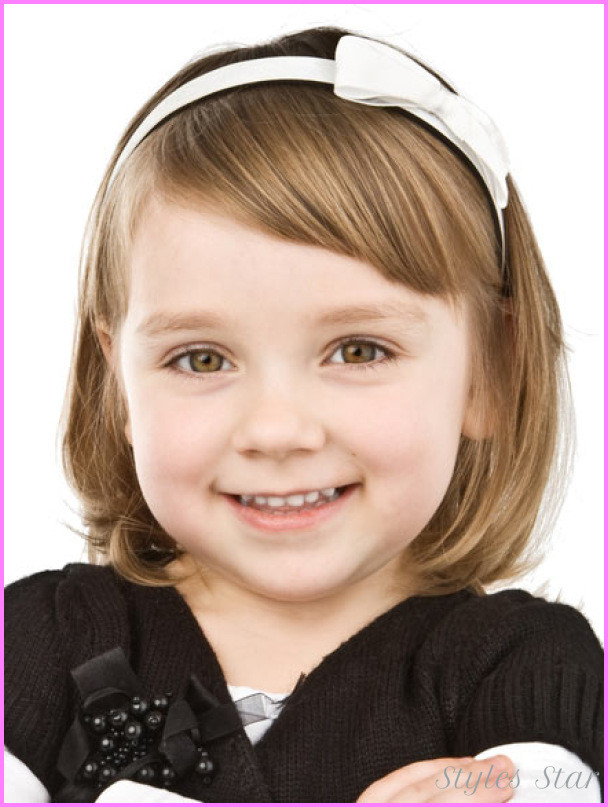 Hairstyles For Toddler Girls  Different haircuts for kids girls StylesStar
