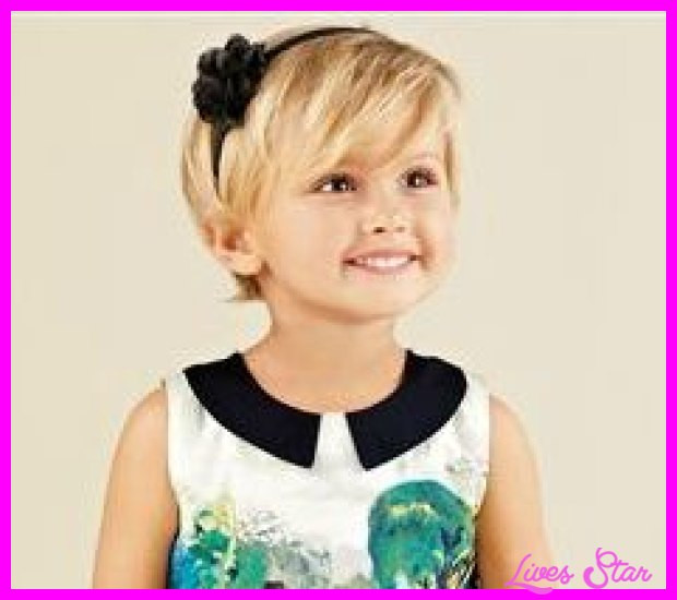 Hairstyles For Toddler Girls  Short haircuts for baby girls LivesStar