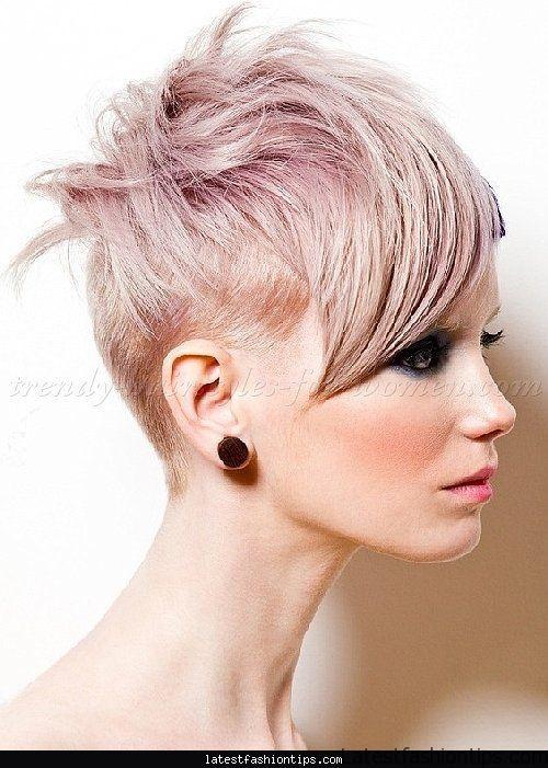 Hairstyles For Undercut  Women s undercut hairstyles LatestFashionTips